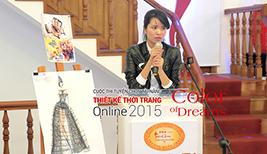 Hình ảnh chung kết Cuộc Thi Thiết Kế Thời Trang 2015 - Phần thi thuyết trình