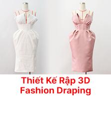 Fashion Draping - Thiết kế rập 3D cao cấp trên Manocanh - Chương Trình Chất Lượng Cao