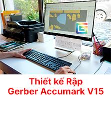 Tin Học Ứng Dụng Ngành May Trên Phần Mềm Gerber Accumark 9.0 - Chương trình đào tạo chất lượng cao