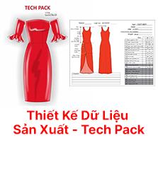 Thiết kế vẽ mẫu thời trang vi tính - Tech Pack - Corel Draw | Đào tạo chất lượng cao