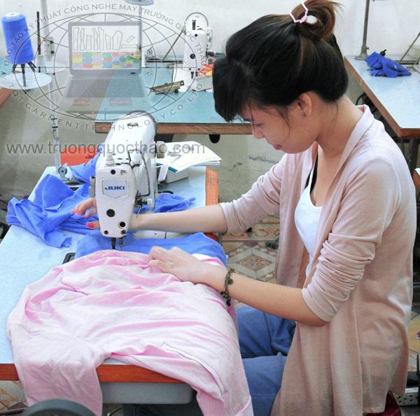 Học cắt may căn bản đến nâng cao tại Trường Quốc Thảo