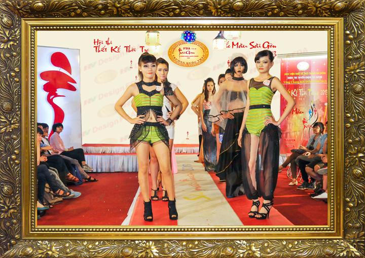 Sắc màu Sài Gòn 2013 - Phần thi trình diễn trong đêm chung kết
