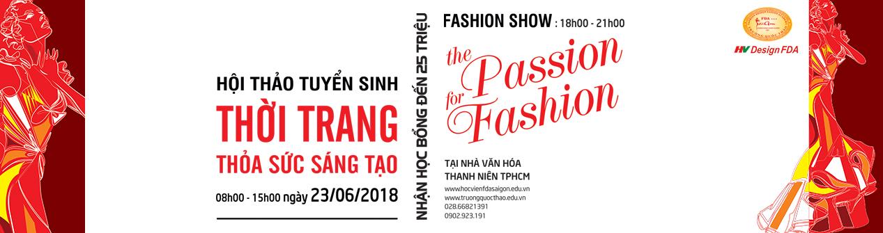 Hội thảo Tuyển sinh Ngành thiết kế thời trang 2018