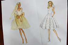 Khóa học vẽ phác thảo thiết kế thời trang