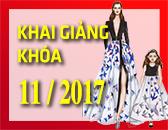 Lịch Khai Giảng các khóa học Thiết kế thời trang & Công nghệ may Tháng 11/2017