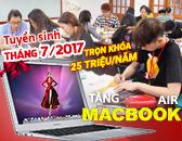 Xét tuyển ngành thiết kế thời trang Tháng 7/2017 - TẶNG MACBOOK AIR
