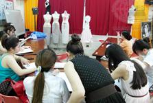 Lớp học vẽ hình họa ngành Thiết kế thời trang tại Quận 3 - TP HCM