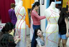 Lớp thiết kế rập nhựa 3D trên manocanh tại Quận 3 - TP HCM - 2012