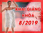 Lịch Khai Giảng các khóa học Thiết kế thời trang & Công nghệ may Tháng 8/2019
