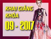 Lịch Khai Giảng các khóa học Thiết kế thời trang & Công nghệ may Tháng 9/2017