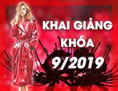 Lịch Khai Giảng các khóa học Thiết kế thời trang & Công nghệ may Tháng 9/2019
