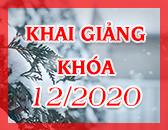 Lịch Khai Giảng Các Khóa Học Tháng 12/2020 tại Học Viện FDA Sài Gòn