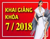 Lịch Khai Giảng các khóa học Thiết kế thời trang & Công nghệ may Tháng 07/2018