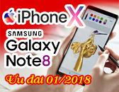 Tặng Samsung Galaxy Note 8 / iPhone X khóa Thiết kế thời trang kỷ niệm 28 năm thành lập