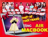 Tuyển sinh 2018 ngành Thiết kế thời trang Tặng Macbook Air dành cho HS vừa dự thi tốt nghiệp THPT và THCS
