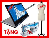Tuyển Sinh 2019 Ngành Thiết Kế Thời Trang – Tặng Combo: Laptop + Máy May + Manocanh